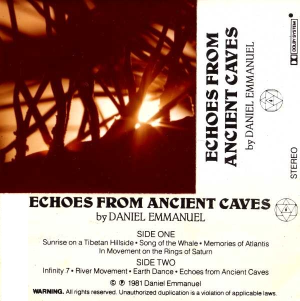 J D Emmanuel Echoes From Ancient Caves